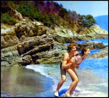 Albert Finney y Audrey Hepburn en Dos en la carretera (Stanley Donen, 1967)