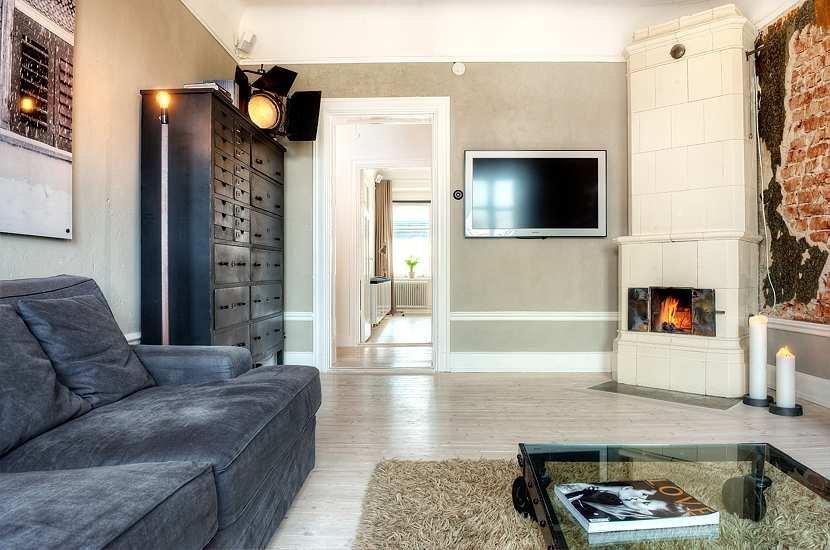 Недорогой дизайн в двухкомнатной квартире