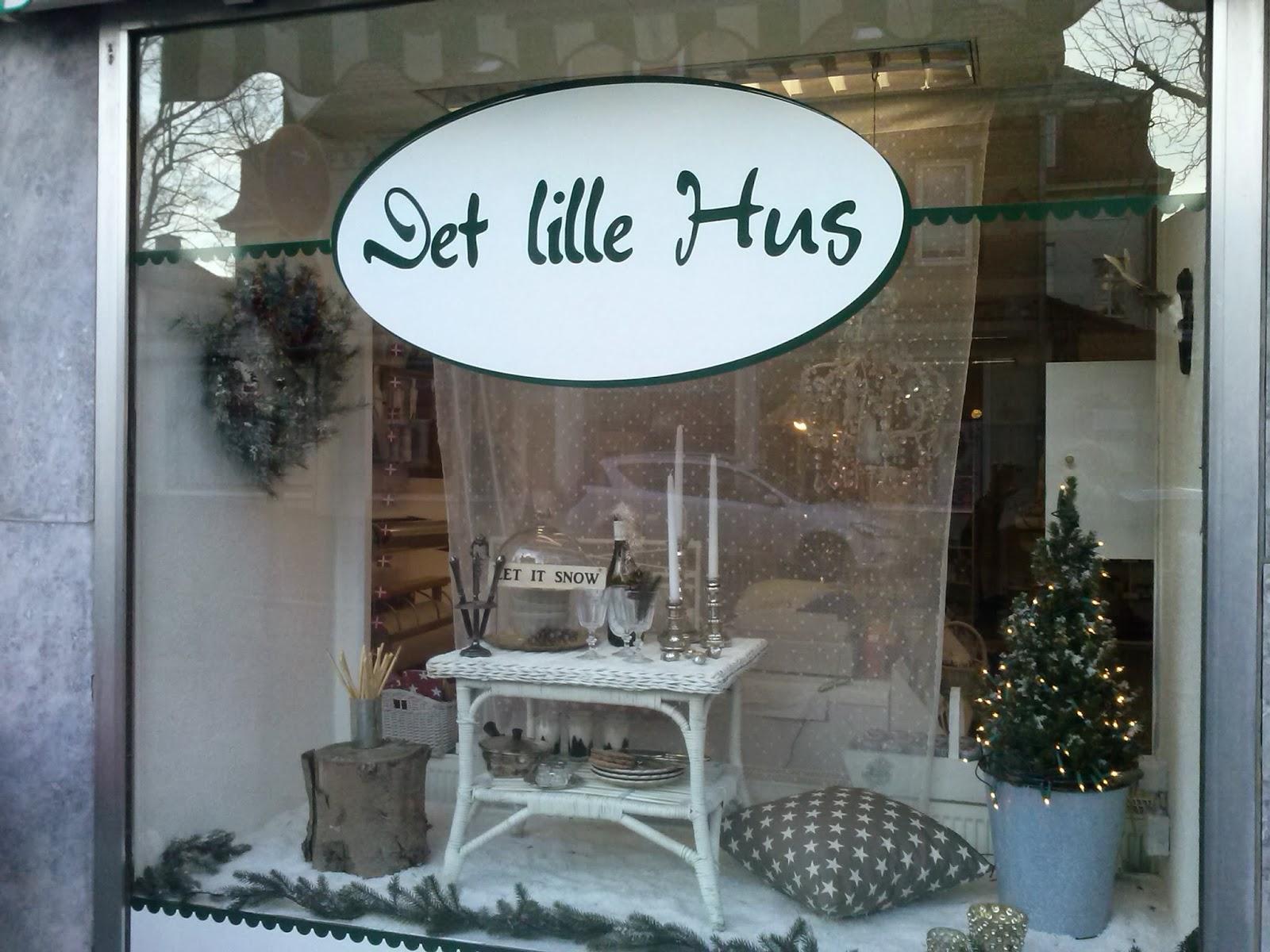 Min Hus Winter Schaufenster