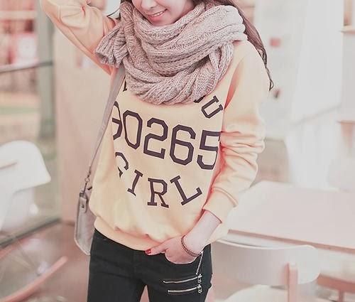 ulzzang fall and winter fashion �� bananalover58