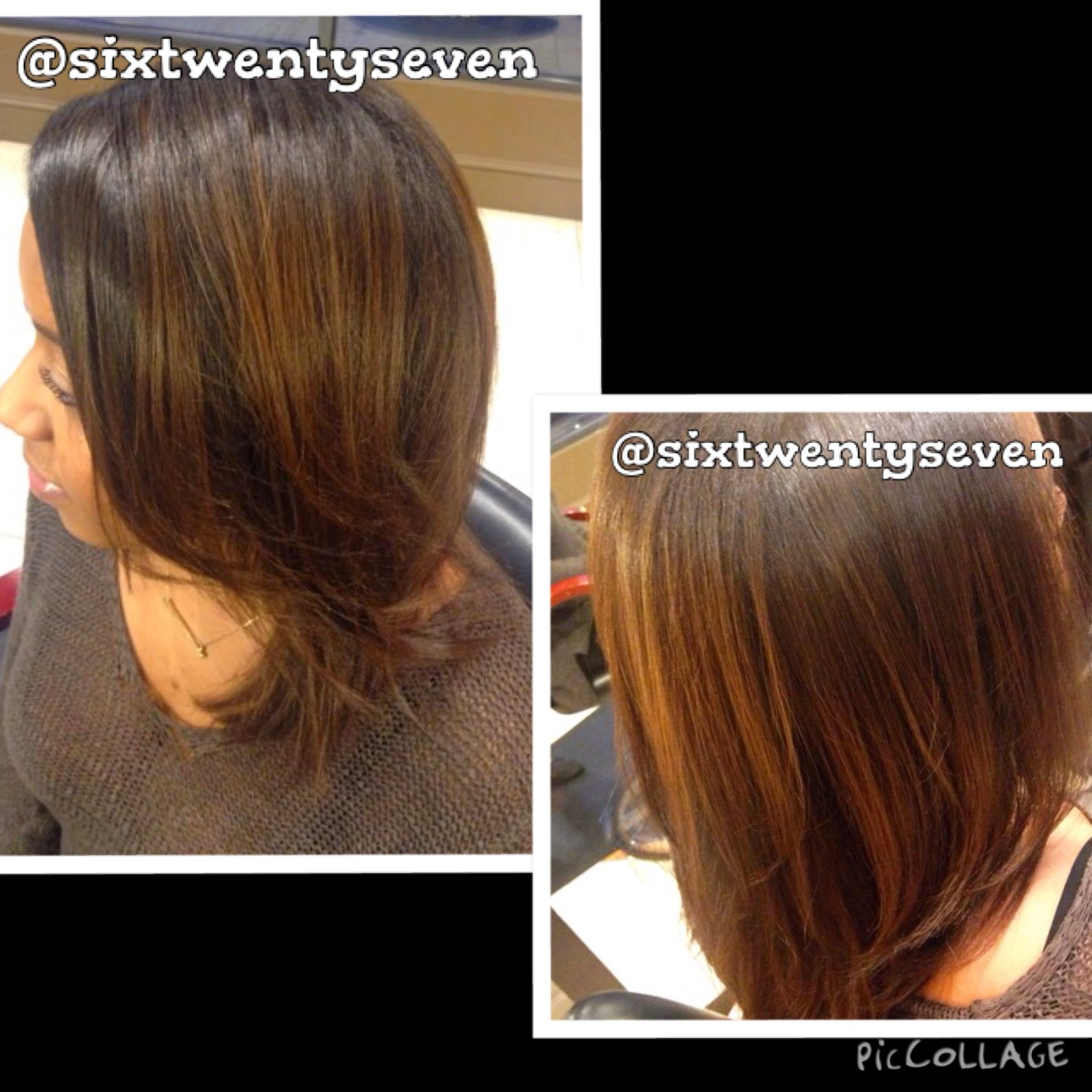 Balayage results on Natural, African,American Hair