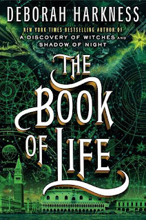 Green Cover of The Book of Life by Deborah Harkness