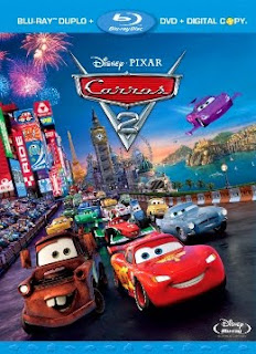 Filme Poster Carros 2 BDRip XviD Dual Audio & RMVB Dublado