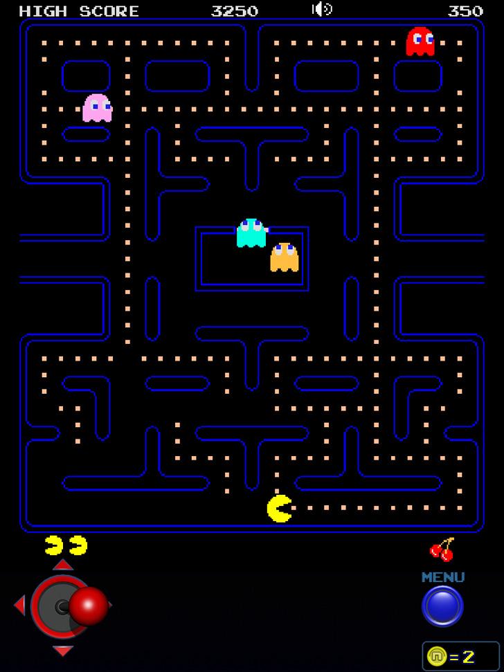 Pac-Man Lite Free App Game By Namco