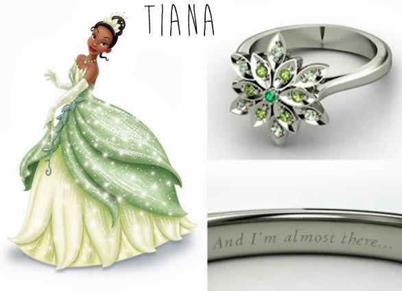 blog Mamãe de Salto aliança inspirada nas princesas da Disney Tiana