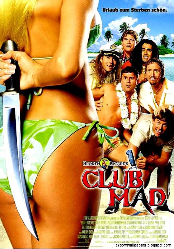 Club Dread   German Movie Poster