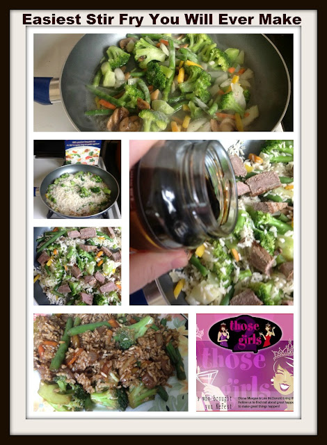 Stir Fry - Easiest Stir Fry You Will Ever Make - TheSunshineIsIn