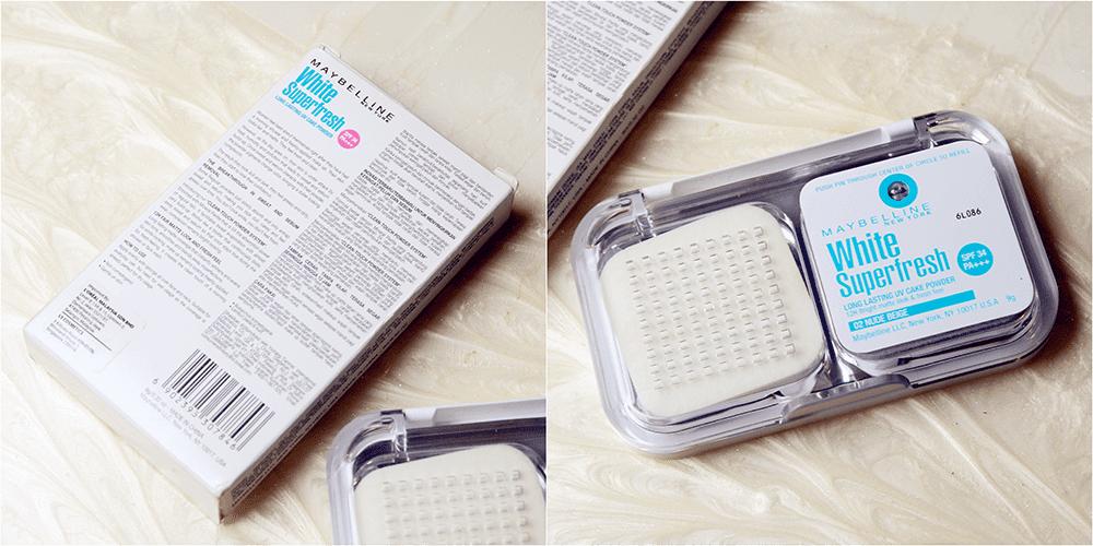 Maybelline White Superfresh Cake Powder Review Indonesia