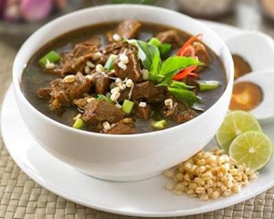 Original Recipe Rawon Surabaya