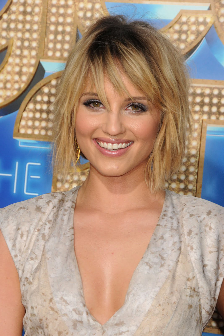 Fresh Look Celebrity Dianna Agron Hairstyles 08