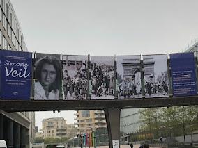 🇪🇺PE à Bruxelles : Hommage à Simone Veil.