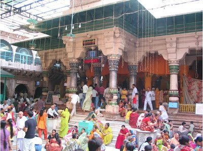 Temple compound of Dwarkadheesh Temple, Mathura