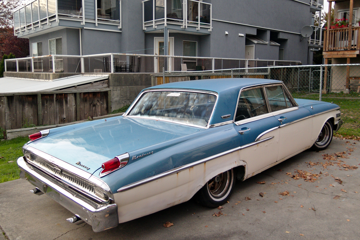 Old Parked Cars Vancouver 1962 Mercury Monterey Custom
