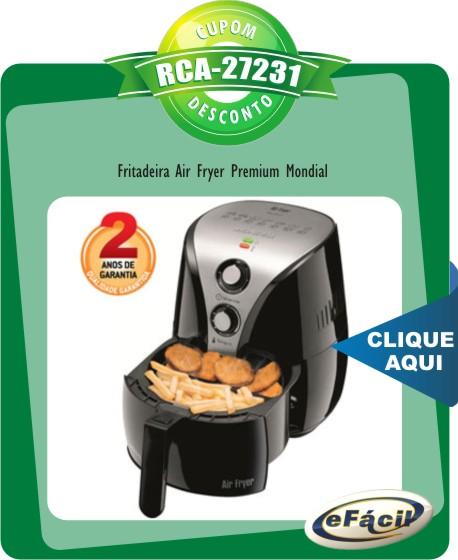 Fritadeira Air Fryer Premium AF-01 Mondial