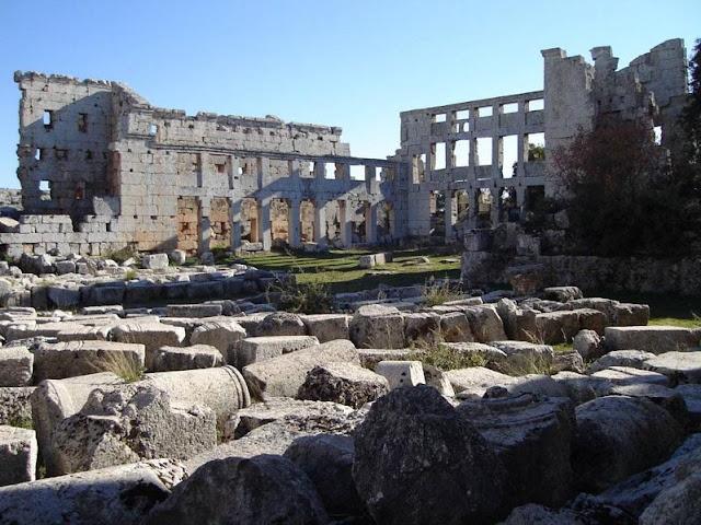 ciudades muertas de Siria