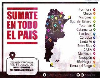 Estamos en las 24 provincias de Argentina