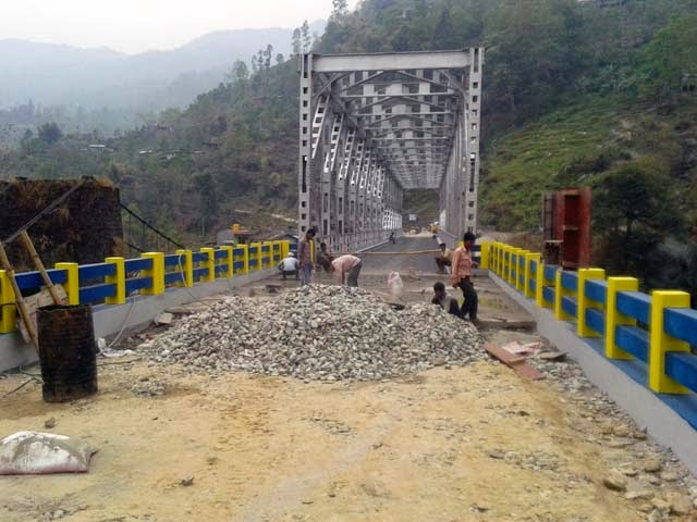 Jogighat steel Bridge Riyangtar