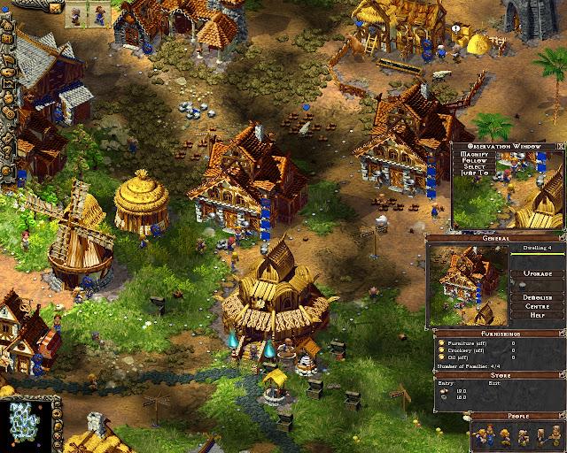 Cultures: Northland - Village Screenshot