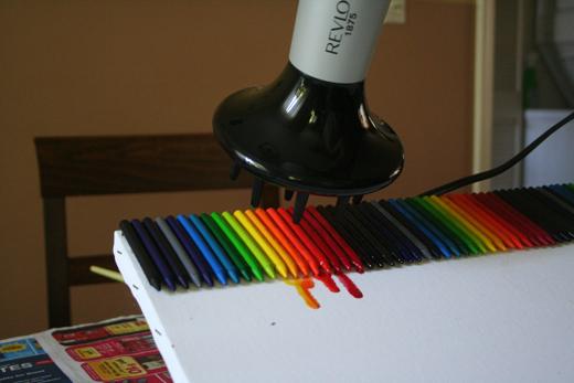 Восковые карандаши как сделать