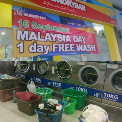 Cucian Percuma Hari Malaysia