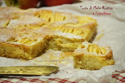 torta di mele...rustica a scacchiera