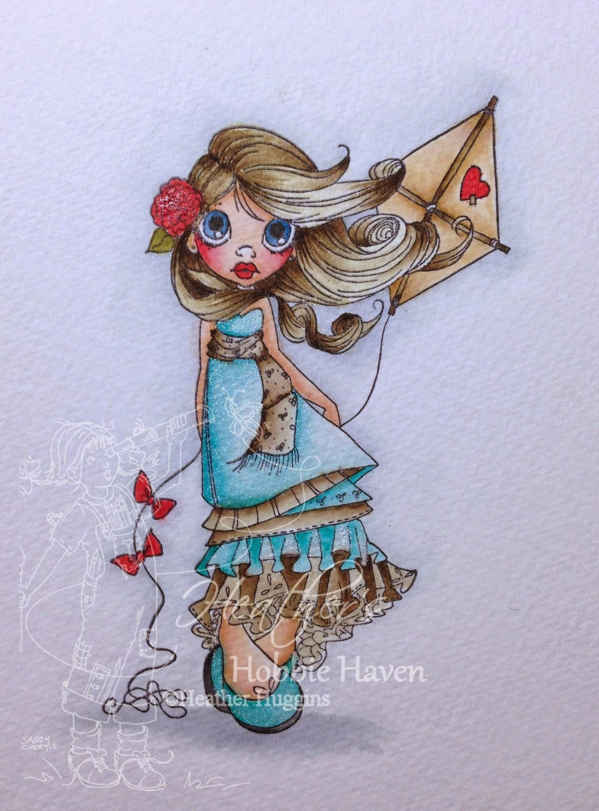 Heather's Hobbie Haven - Alternate Coloring
