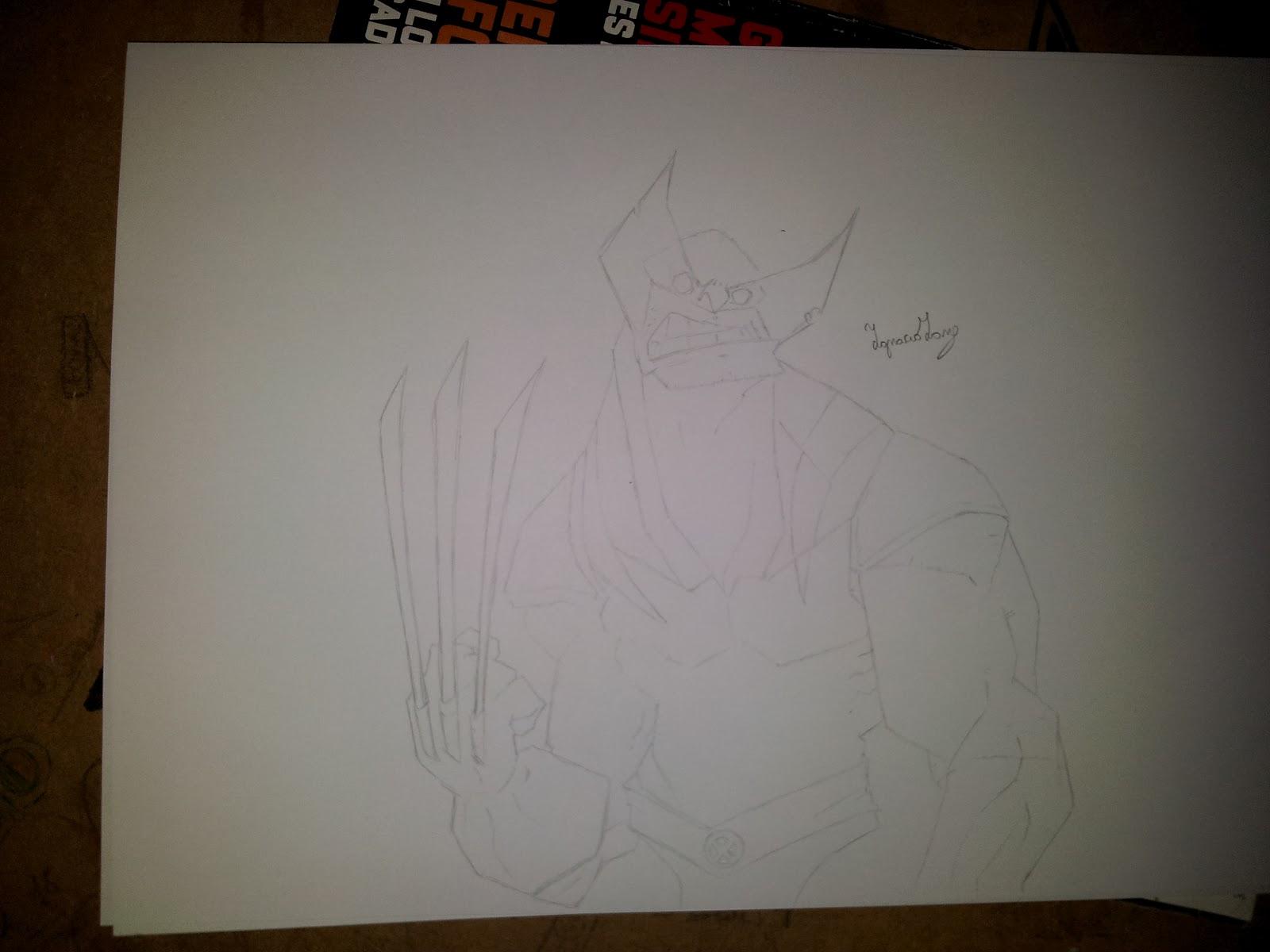 Wolverine dibujo