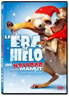 La Era del Hielo una navidad tamaño mamut DVD FULL