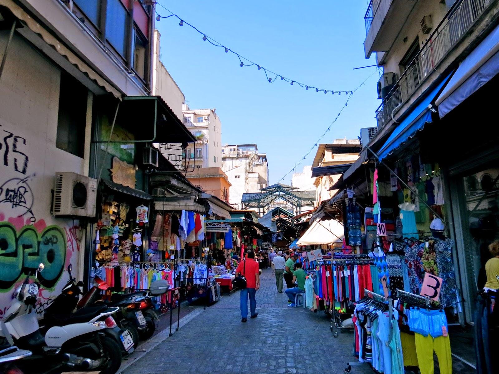thessaloniki modiano market