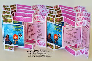 brave princess_merida birthday invitaticiones