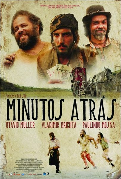 "Poster do filme ""Minutos Atrás"""