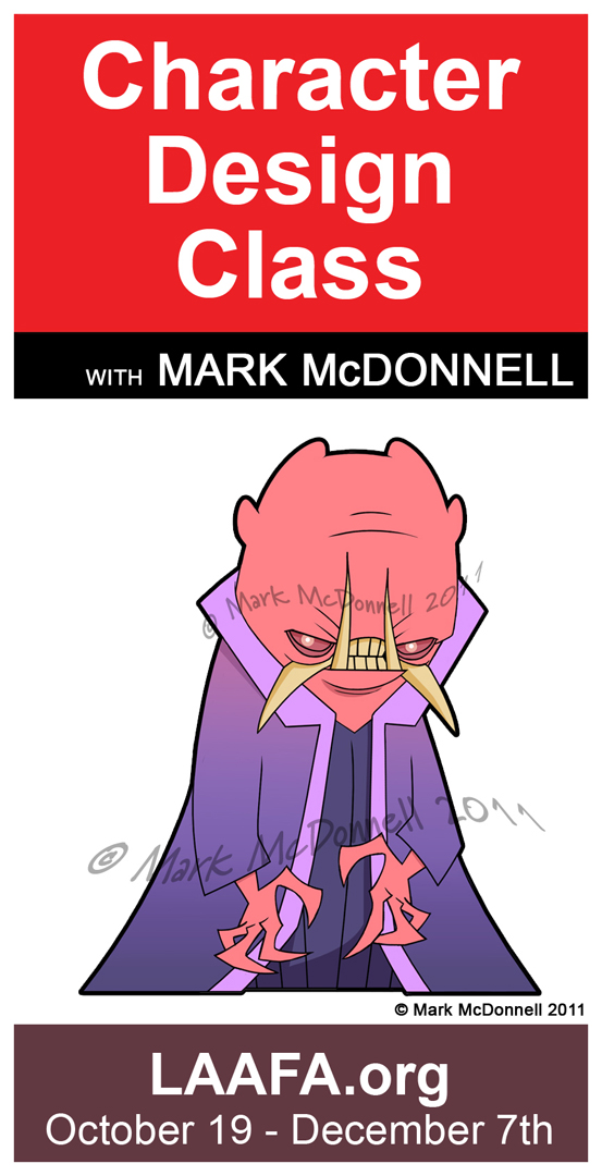 The Art Of Character Design With David Colman Volume 2 : Mark mcdonnell evil rises