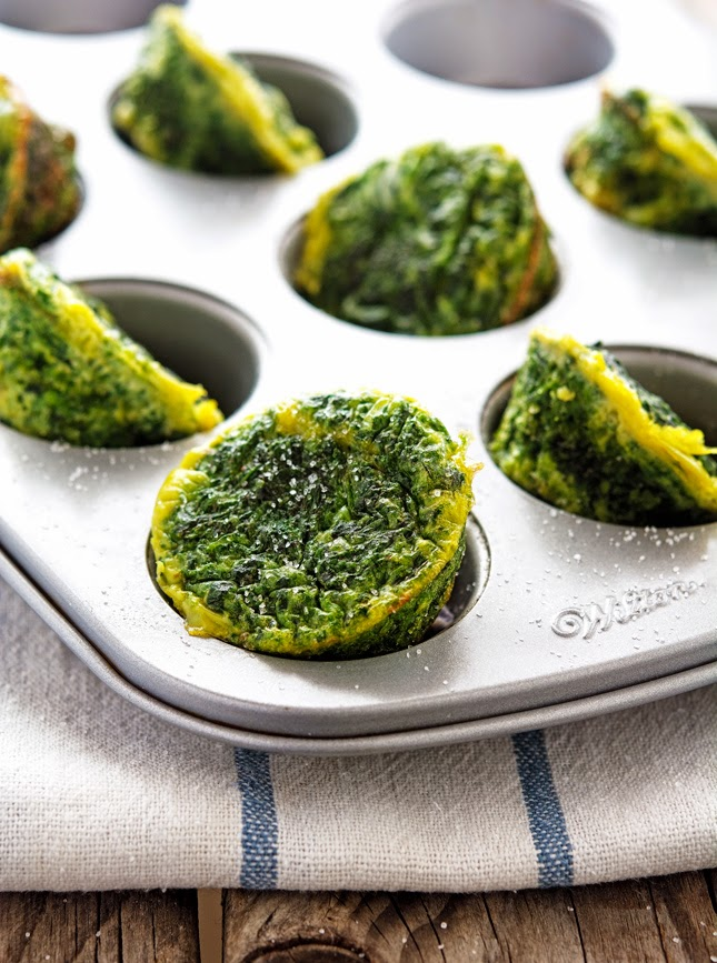 Egg Muffin With Peppers, Kale, And Cheddar Recipes — Dishmaps