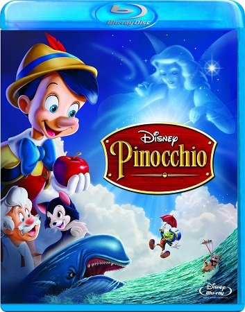 Poster Of Pinocchio 1940 English 300MB BRRip 480p ESubs Free Download Watch Online