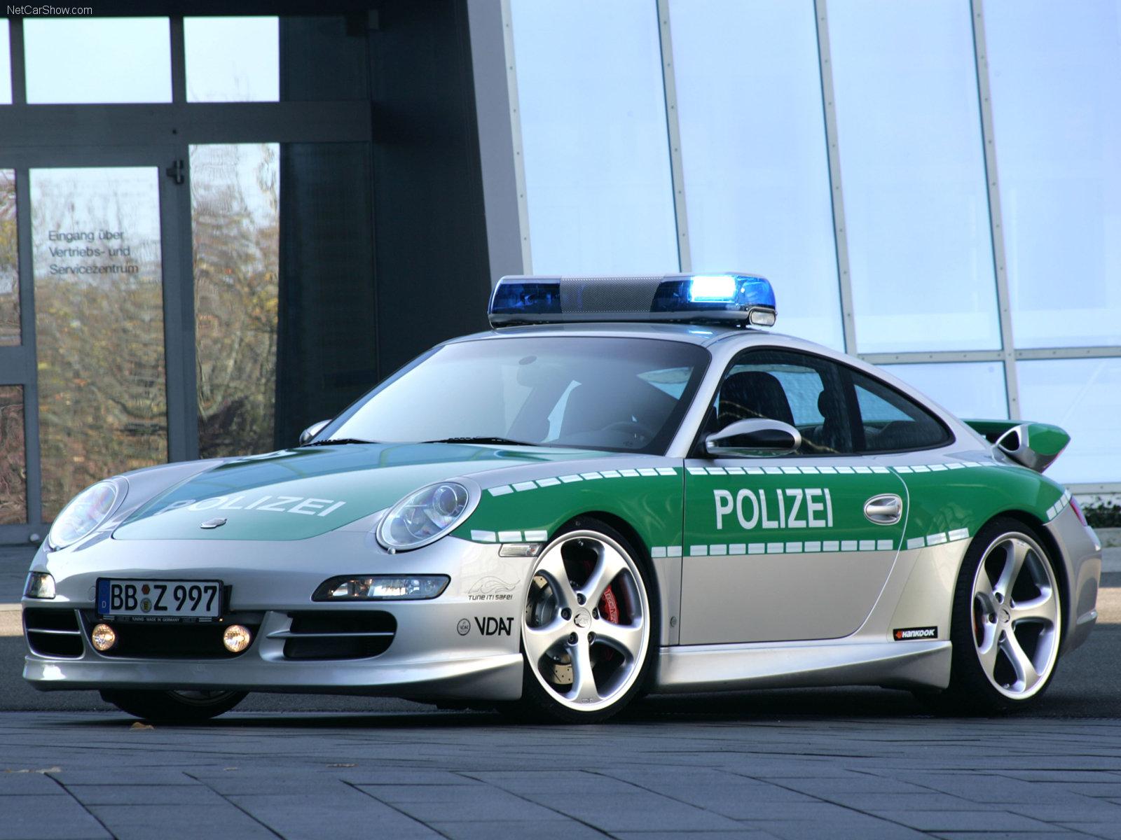 Hình ảnh xe ô tô TechArt Porsche 911 Carrera S Police Car 2006 & nội ngoại thất