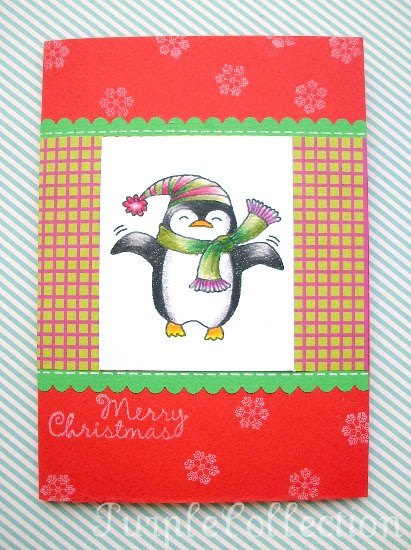 Christmas Cards, penguin