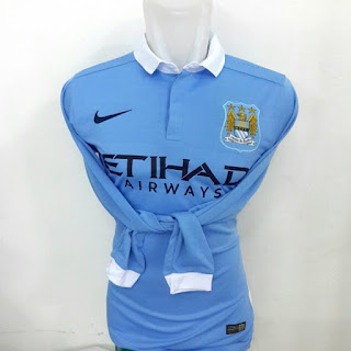 gambar desain terbaru jersey home man city gambar foto photo kamera Jersey lengan panjang Manchester City home terbaru musim 2015/2016 di enkosa sport toko online terpercaya lokasi di jakarta pasar tanah abang