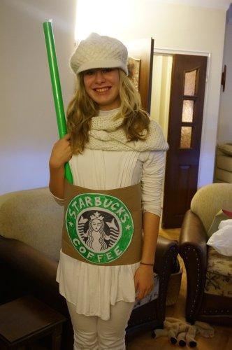 Starbucks coffee costume
