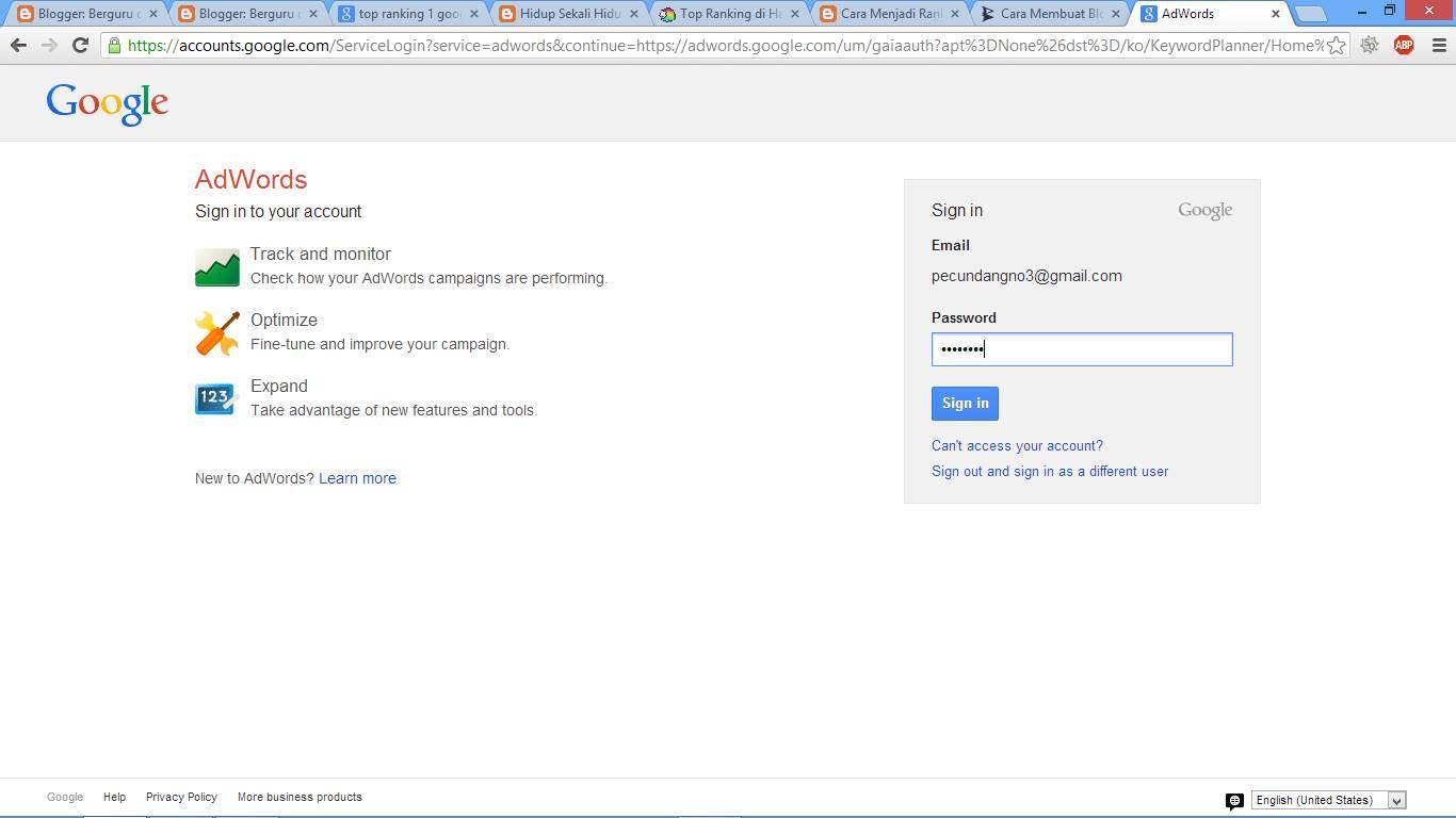 Cara Menjadi Top Ranking 1 di Google gambar 2