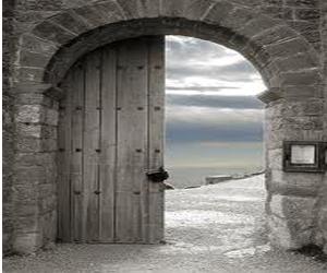 Razones del alma for Puertas grandes antiguas