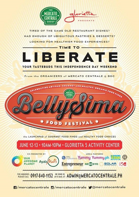 Mercato Centrale & Glorietta Presents: BELLYSIMA! Food Festival 2015