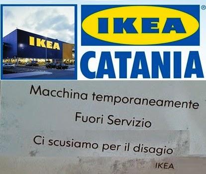 Ikea catania ma portatevi l acqua da casa e un caro amico for Ikea catania