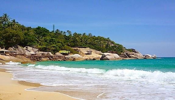 haad yuan beach koh phangan