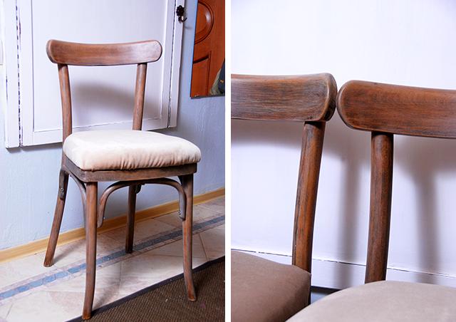 Обновить старый стул своими руками с фото