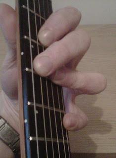 D13 guitar chord