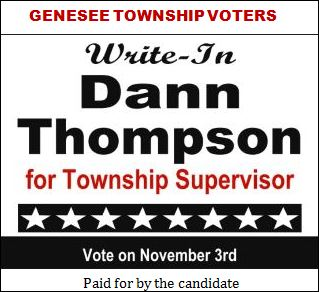 11-3 Write-In Dann Thompson