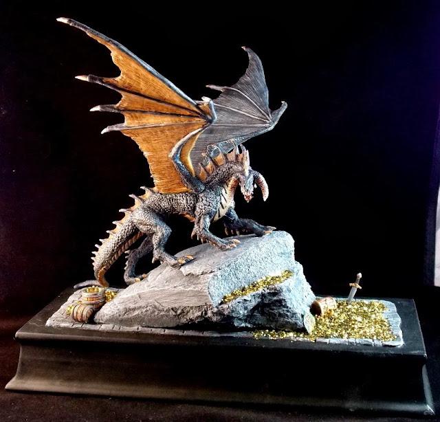 Miniatures for Roleplaying: Reaper Bones Dragon Ebonwrath ...
