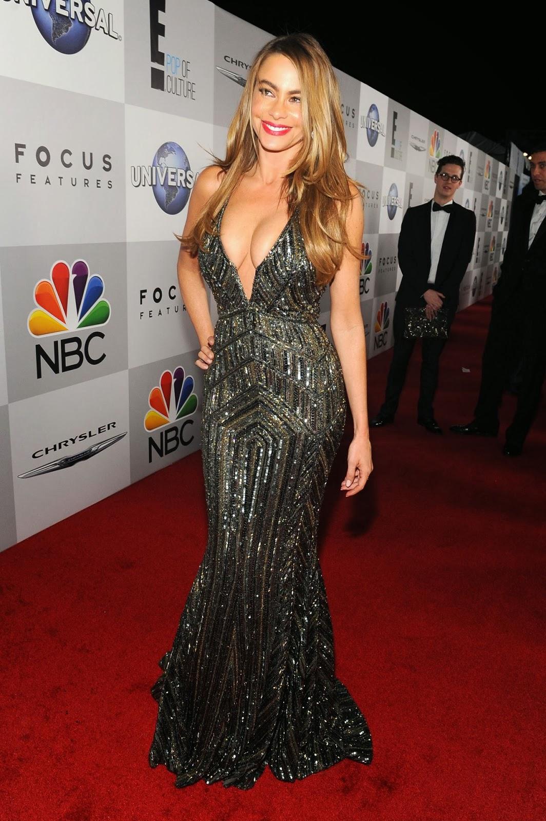 Sofia Vergara At Nbc Universal S 71st Annual Golden Globe
