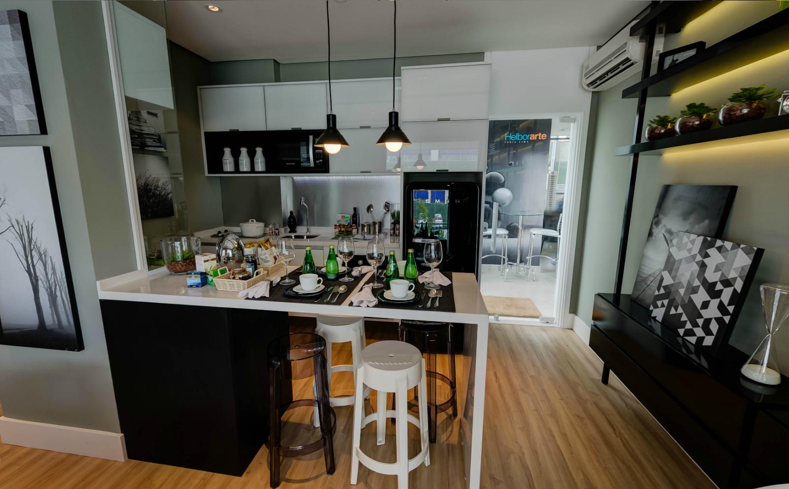 Cozinha Planejada Conceito Aberto Beyato Com V Rios Desenhos  -> Fotos De Cozinha Conceito Aberto