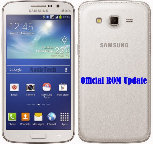 Samsung Galaxy Grand 2 SM-G7105L 4.3 Jelly Bean Firmware Update